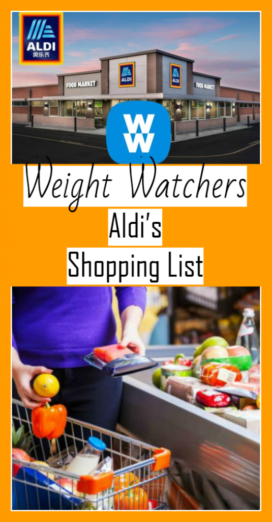 weight watchers aldi shopping list - weight watchers recipes